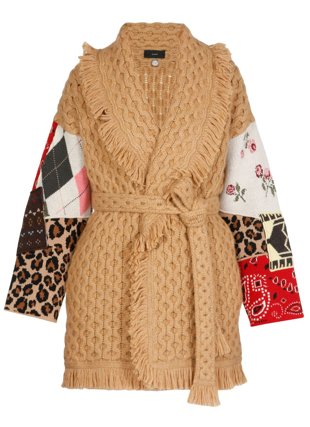 Honey patchwork cardigan