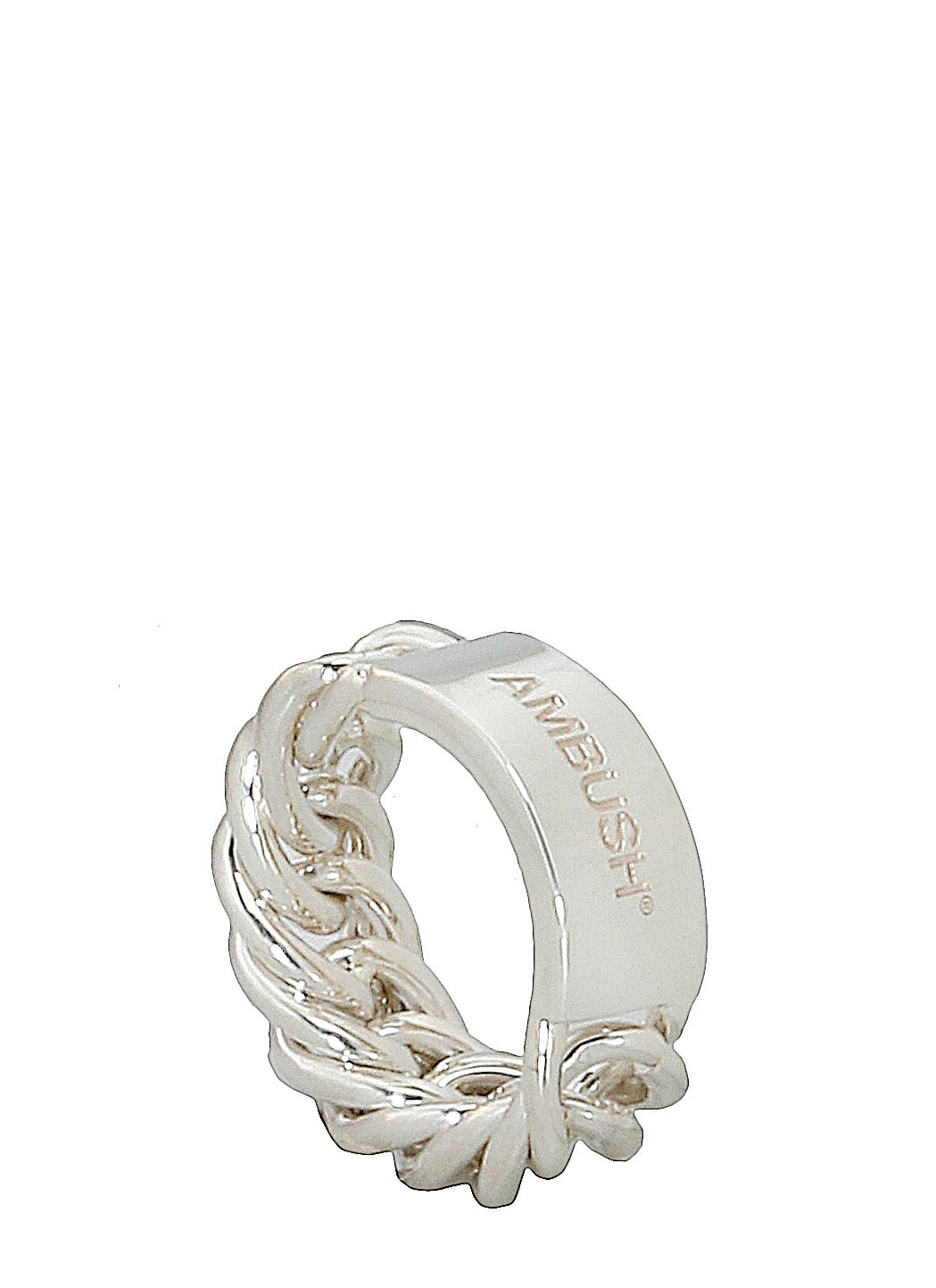Chain Ring Argento