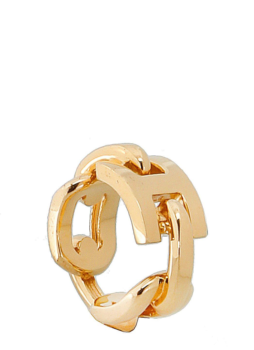 Golden rilver ring