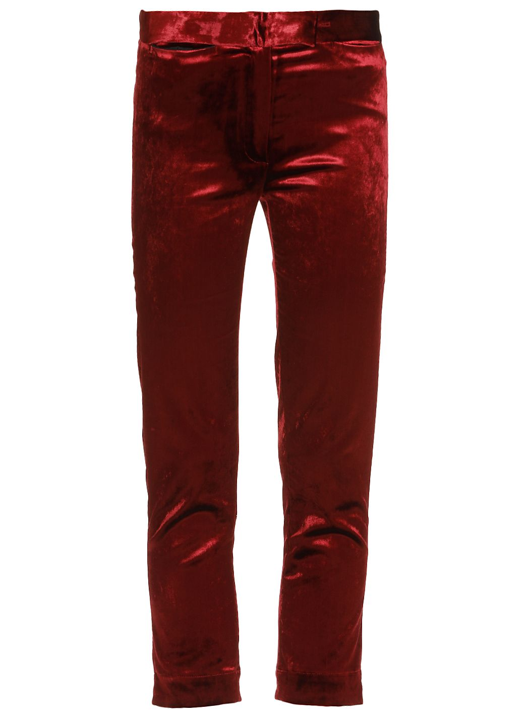 Trousers calcio burgundy
