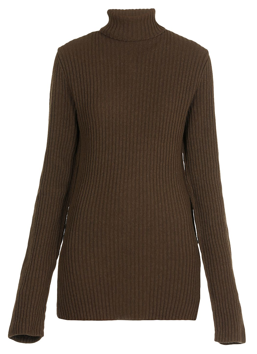 Turtle neckline wool sweater