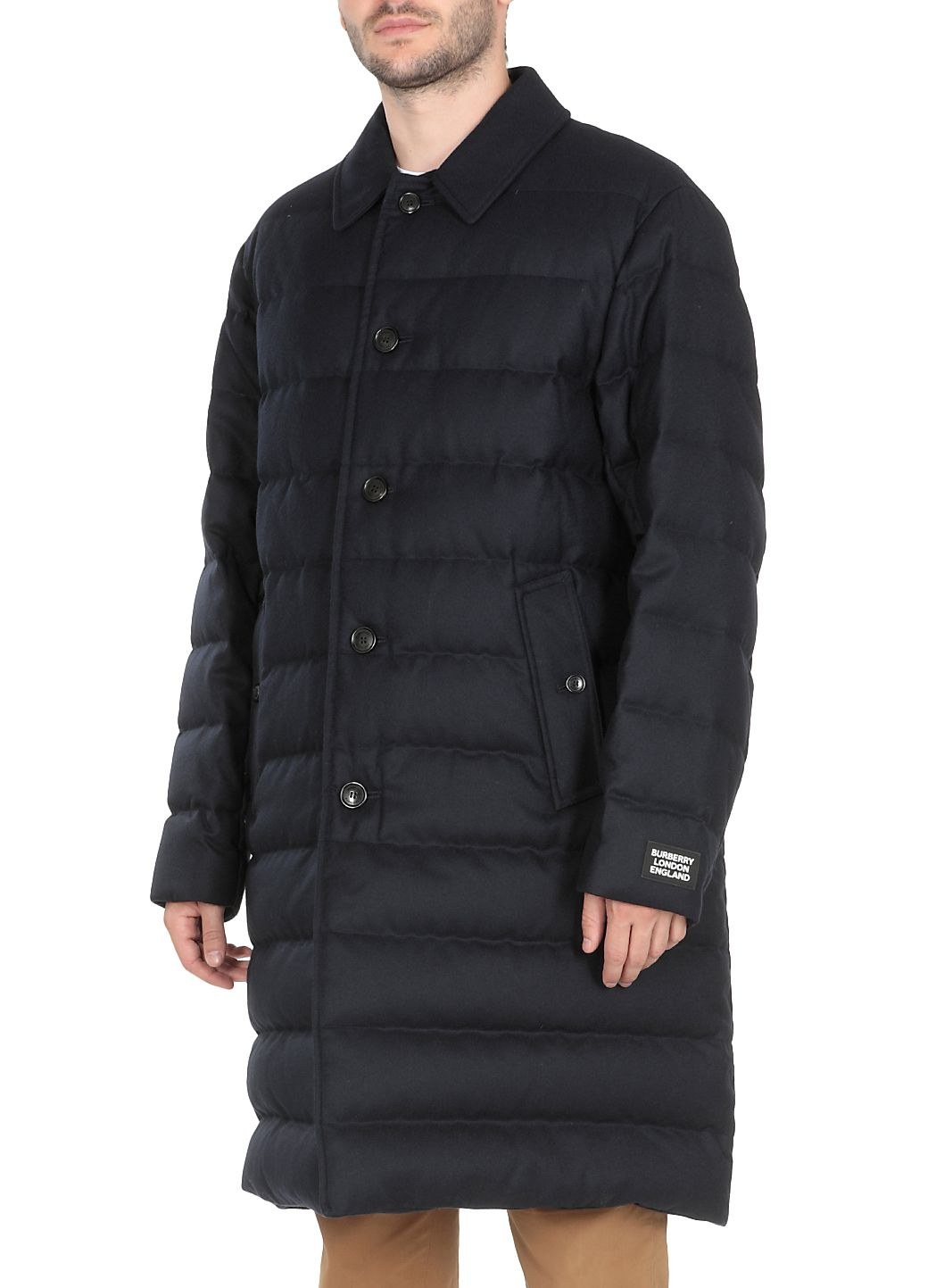 Padded and quilted Hanworth down jacket