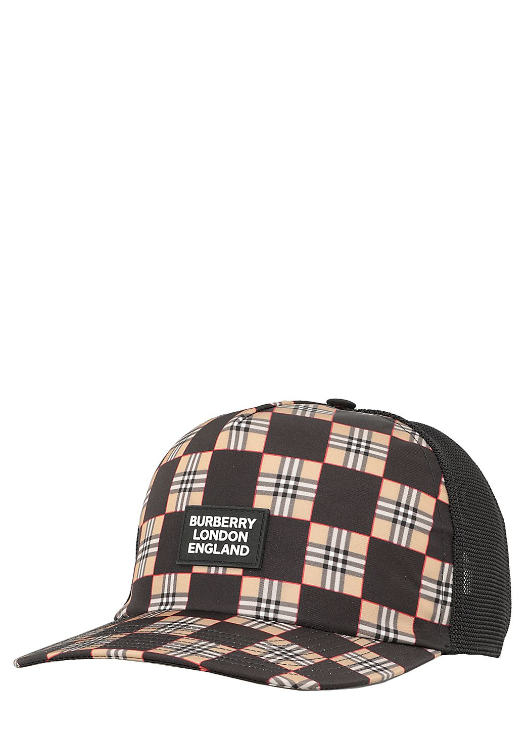 Checkerboard Trucker Baseball Cap