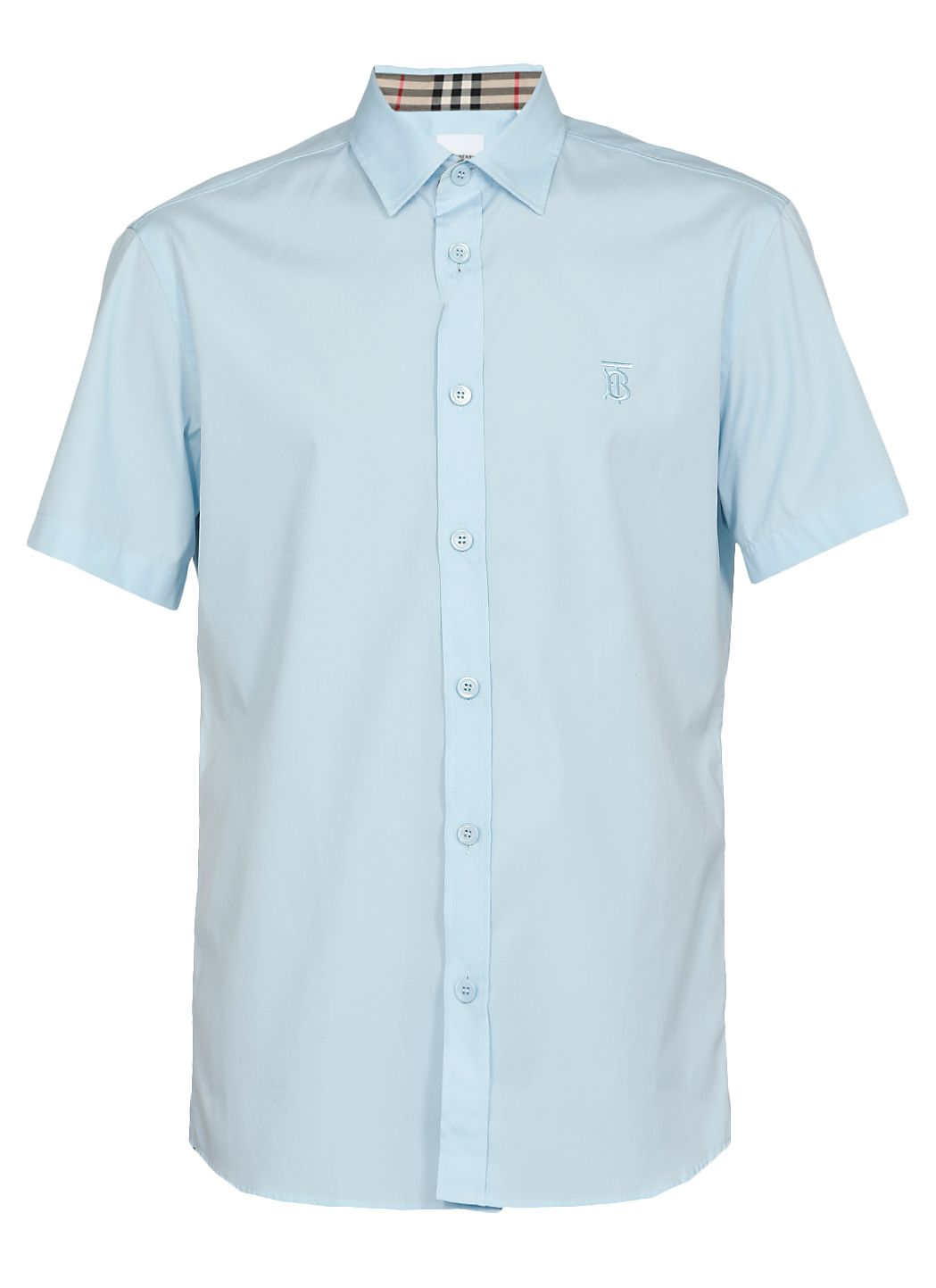 Cotton shirt with monogram