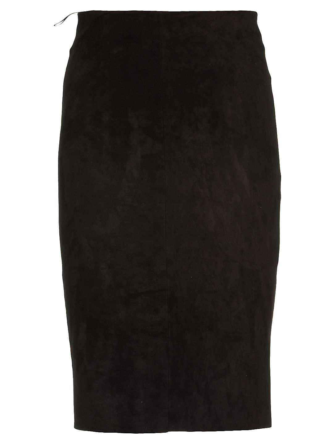 Suede longuette skirt