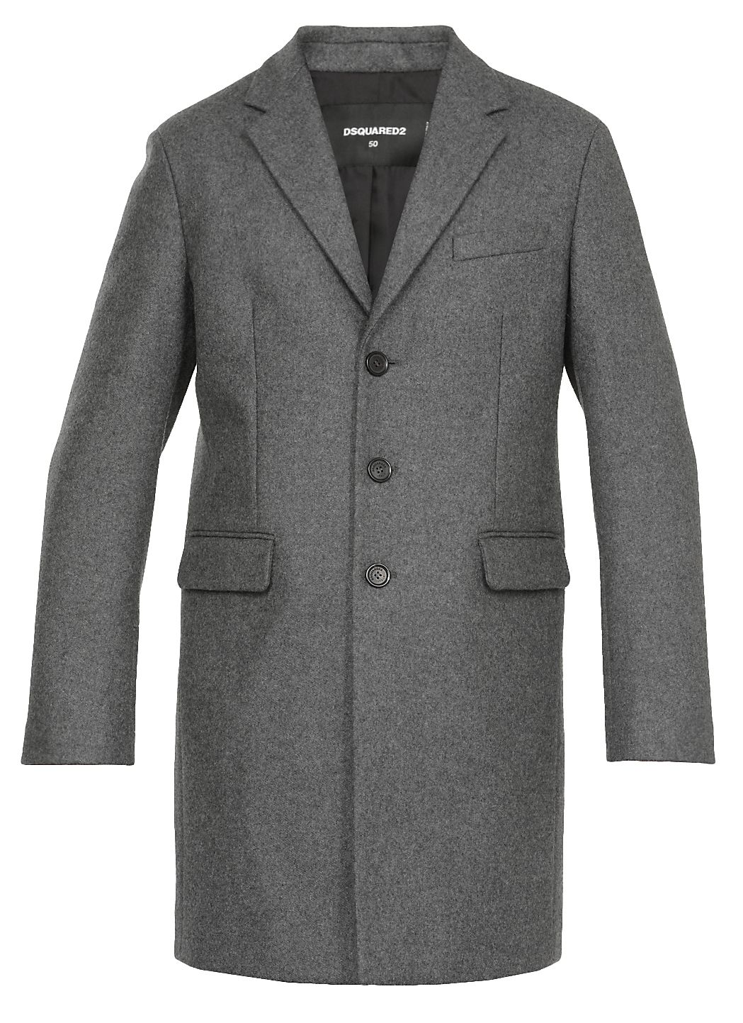 Mono breasted coat