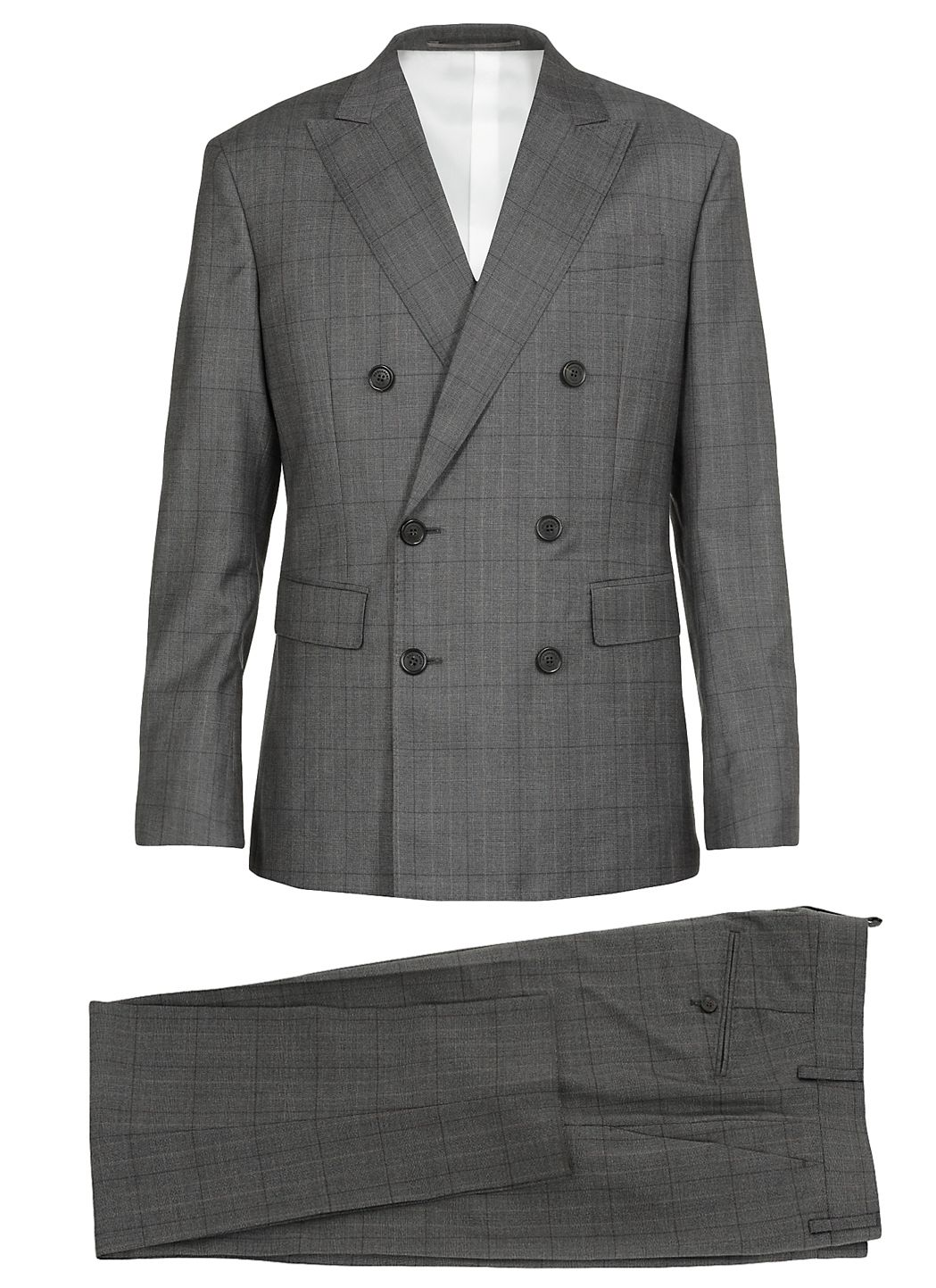 Virgin wool suit