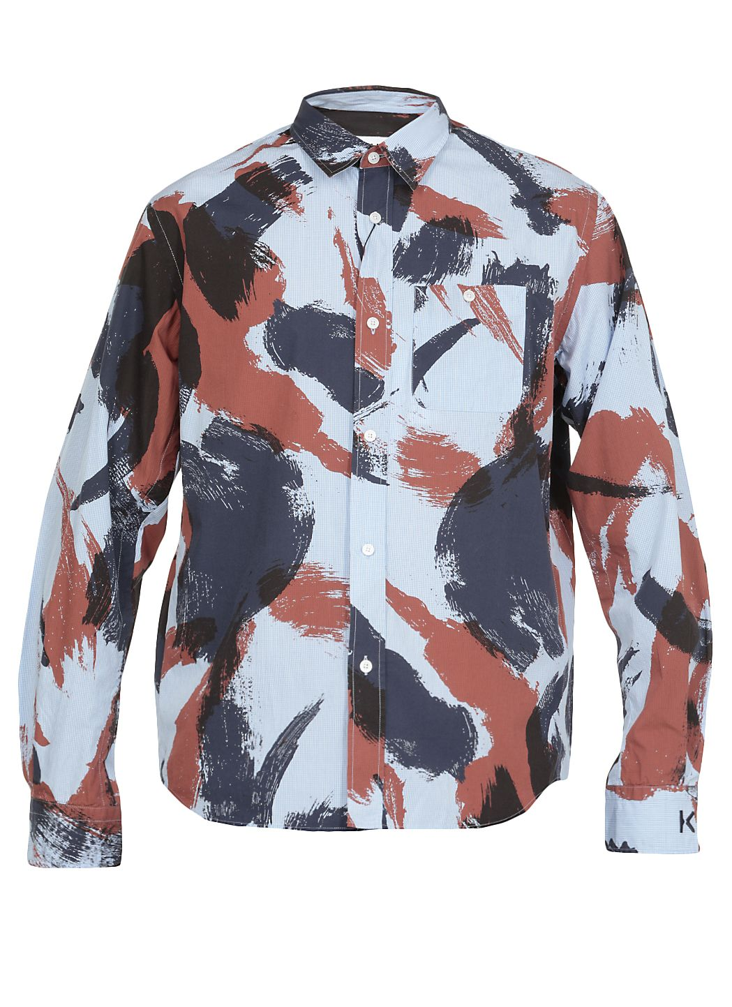Brushed Camo casual shirt