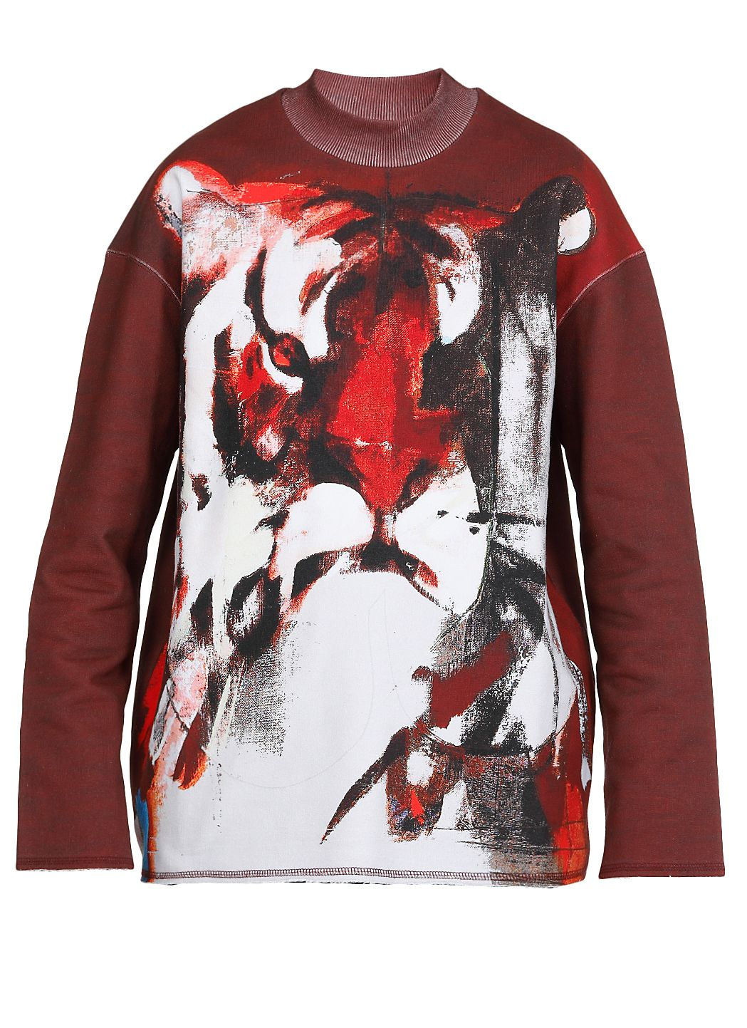 Cotton sweatshirt with print