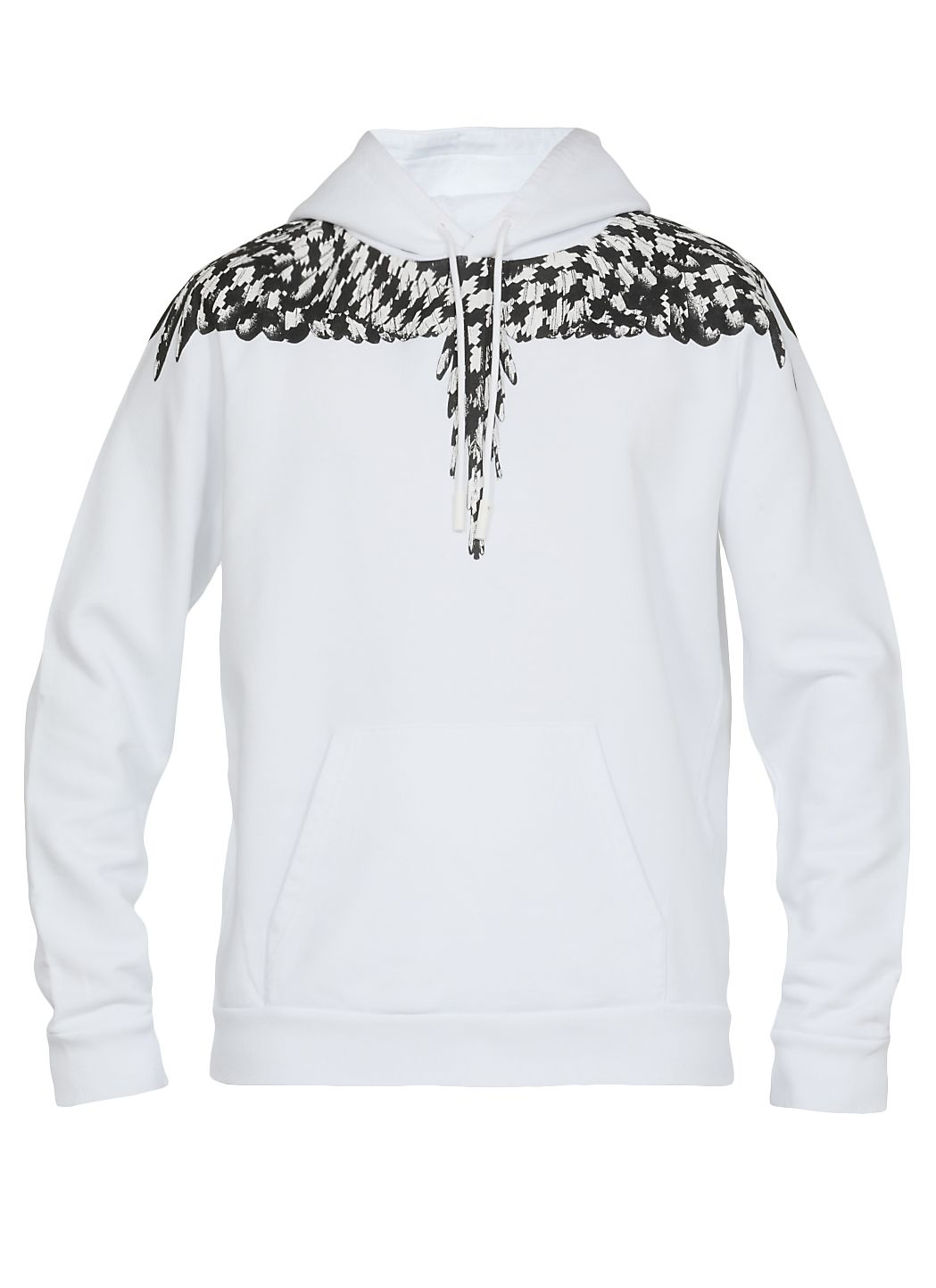 Cross pied de poule wings sweatshirt