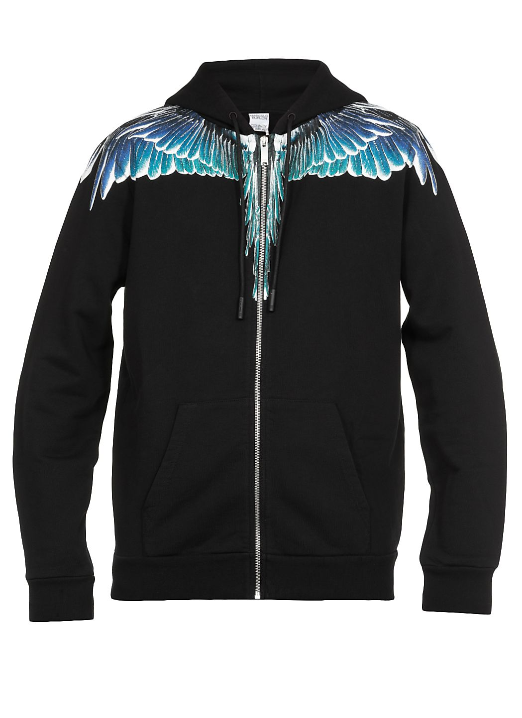 Wings regular zip felpa