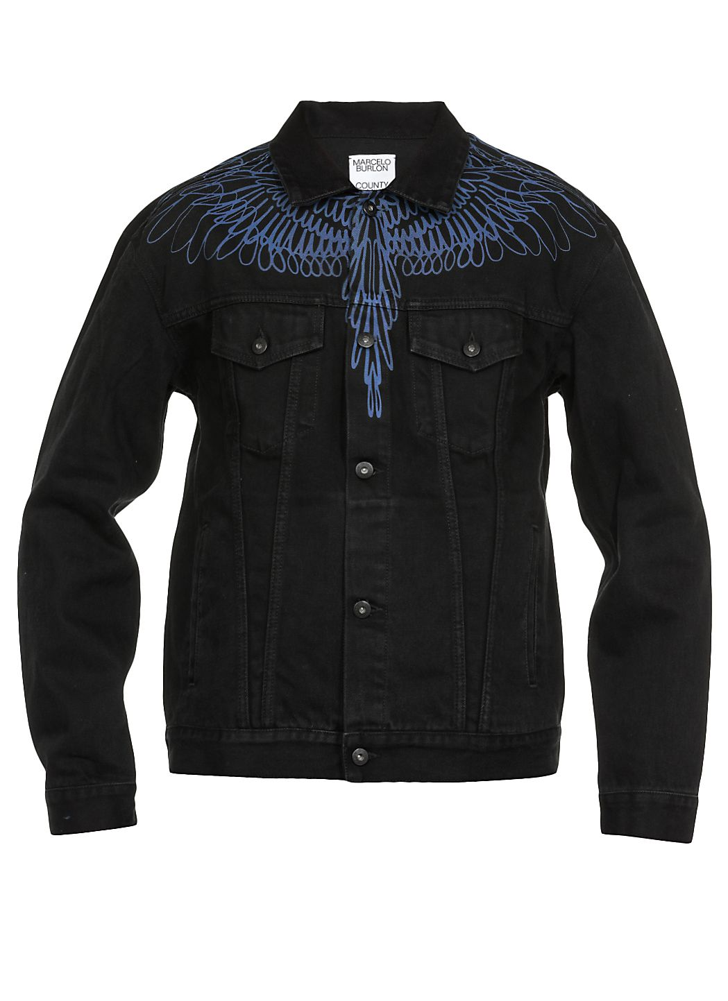 Pictoral wings Jeans jacket