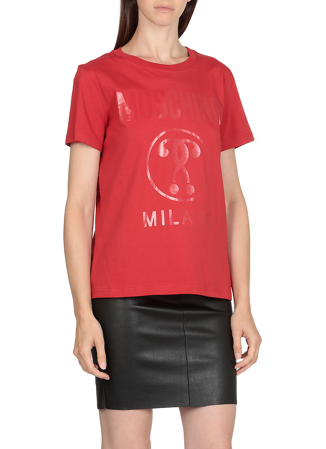 T-shirt Double Question Mark Stretch