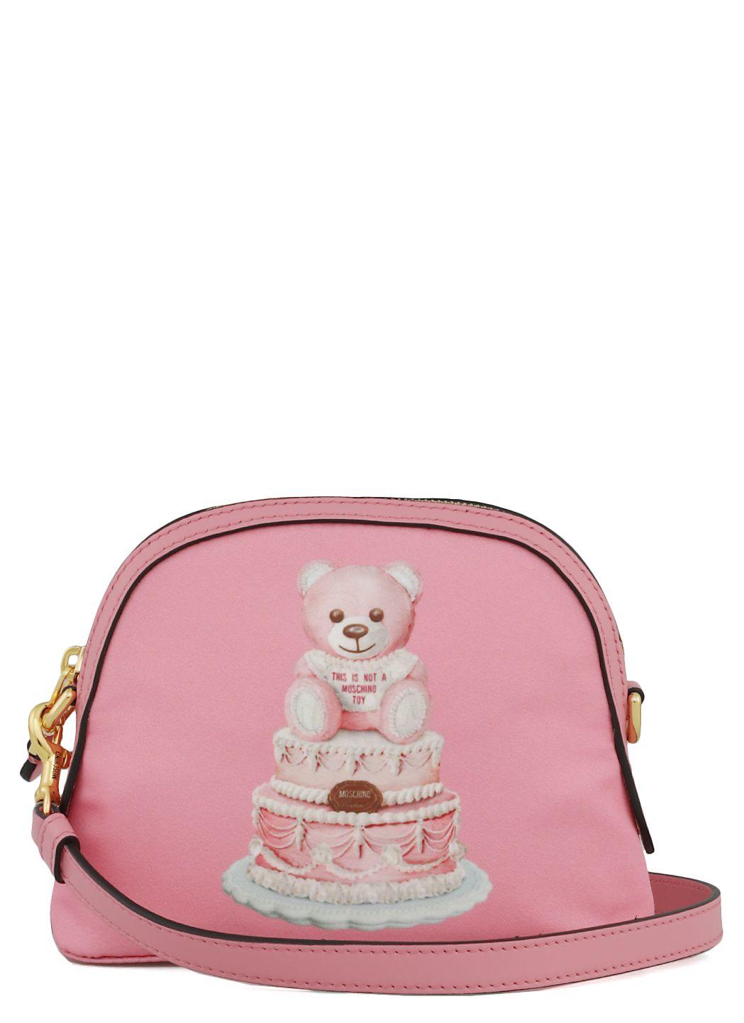 Pink Cake Teddy Bear borsa a spalla