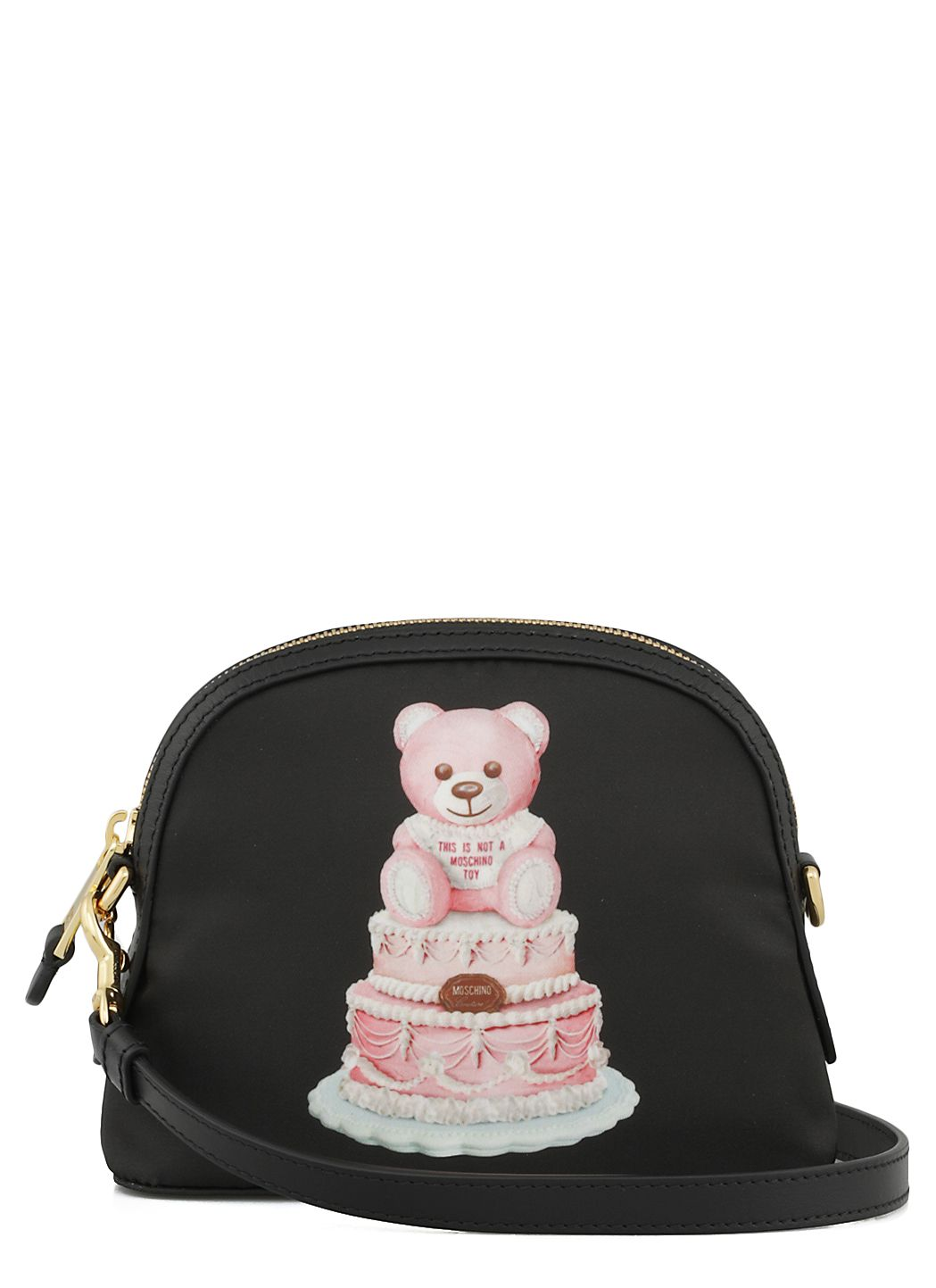 Black Cake Teddy Bear shoulder bag