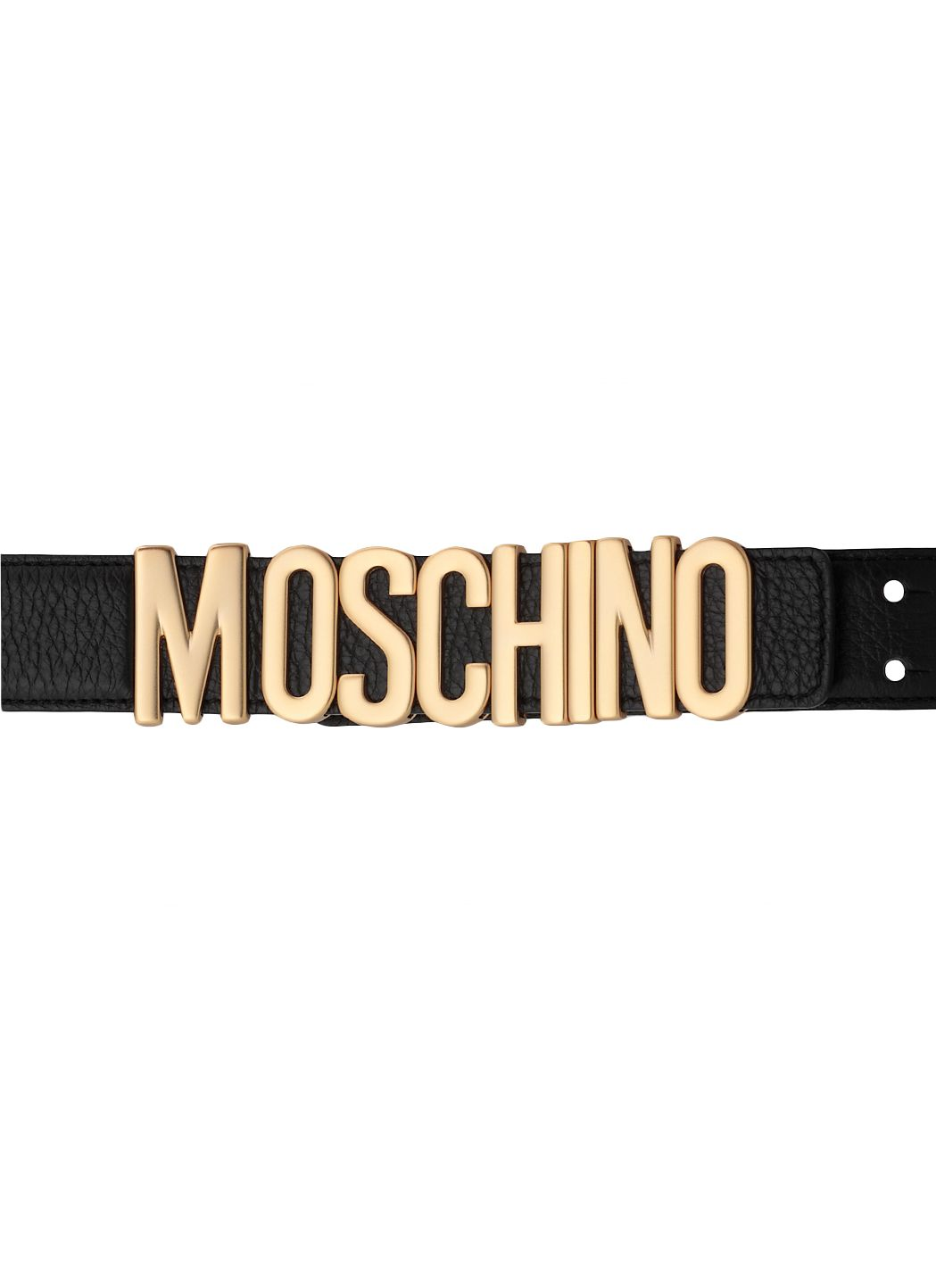 Belt with Lettering Logo