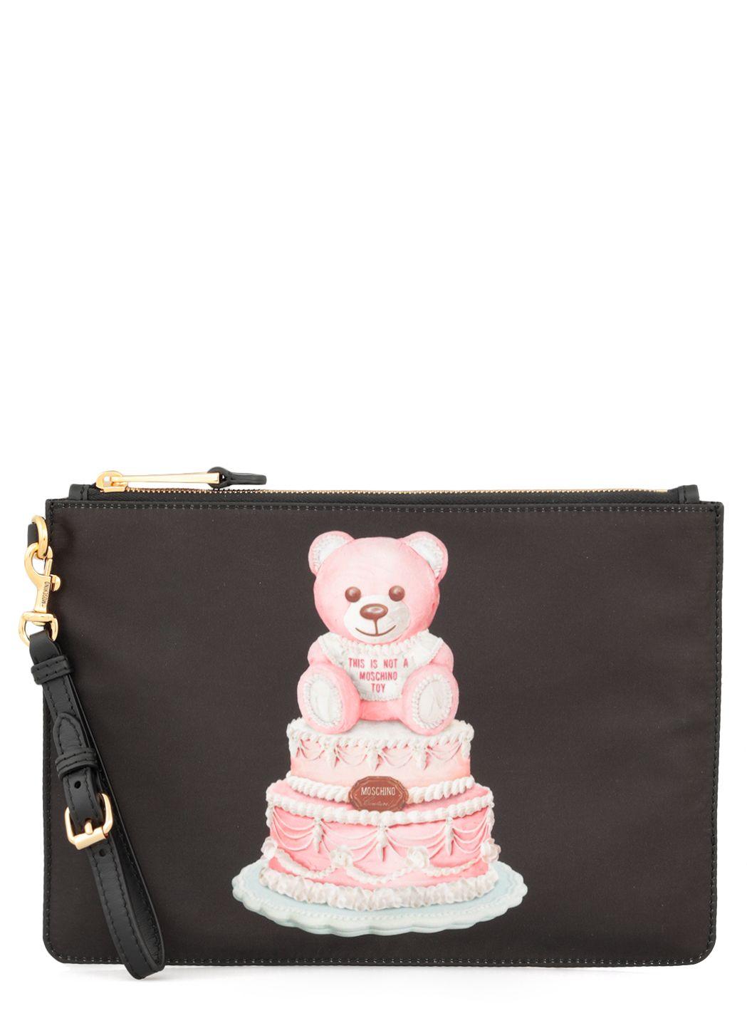 Teddy Bear Cake Clutch