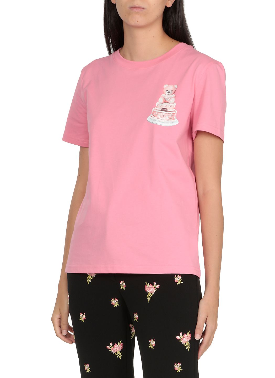 T-shirt con stampa Teddy