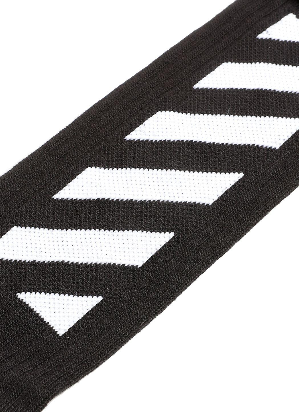 Calze con stampa diagonale