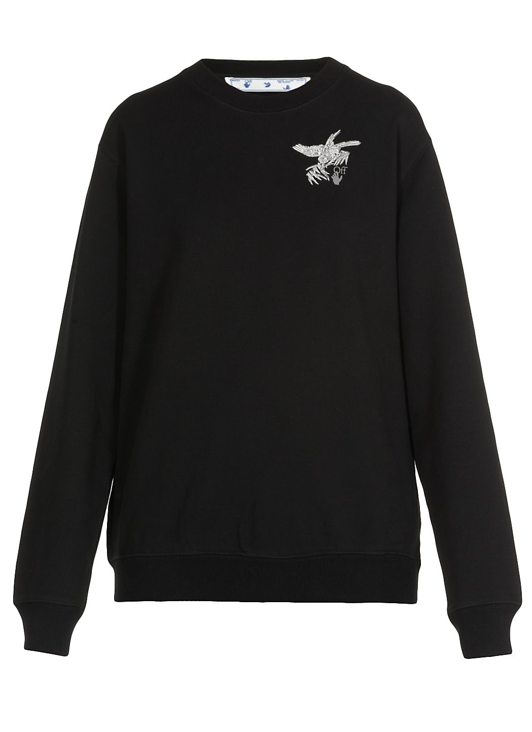 Emrboidered Birds Reflective Sweatshirt