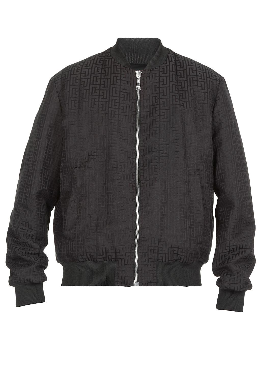Jacket with monogram