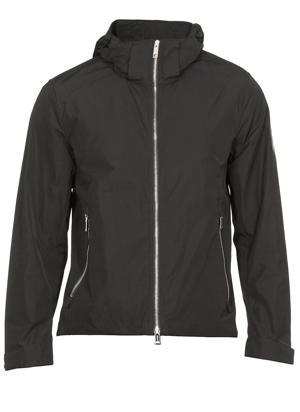Hargrave packaway hood taffeta jacket