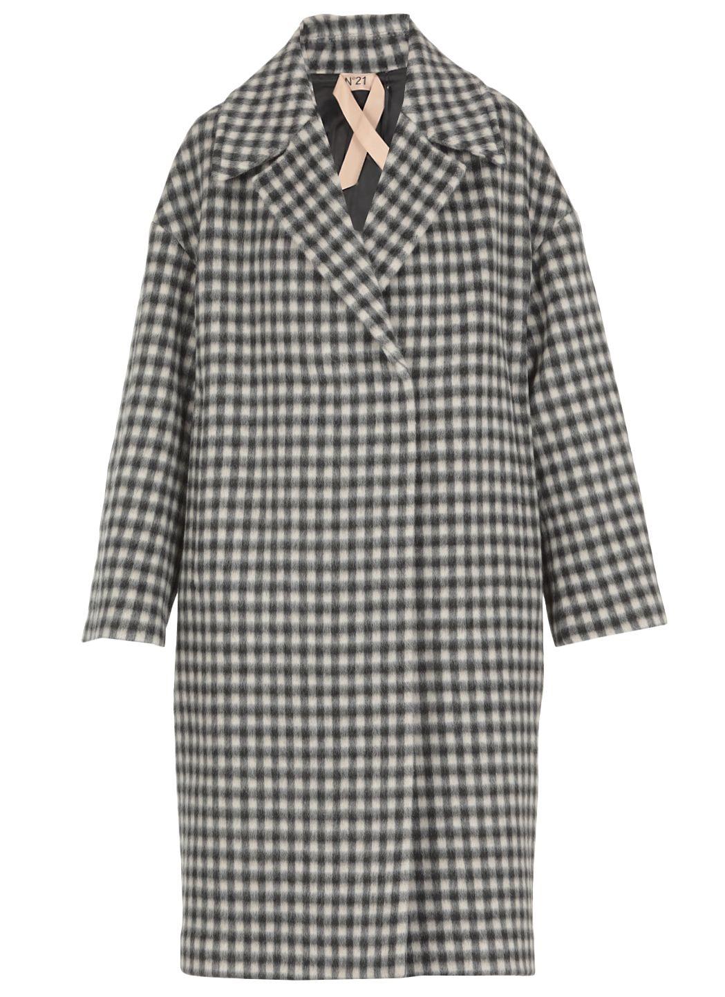 Wool double-breaste coat