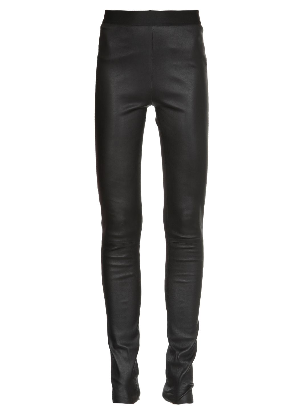 Leggins in pelle