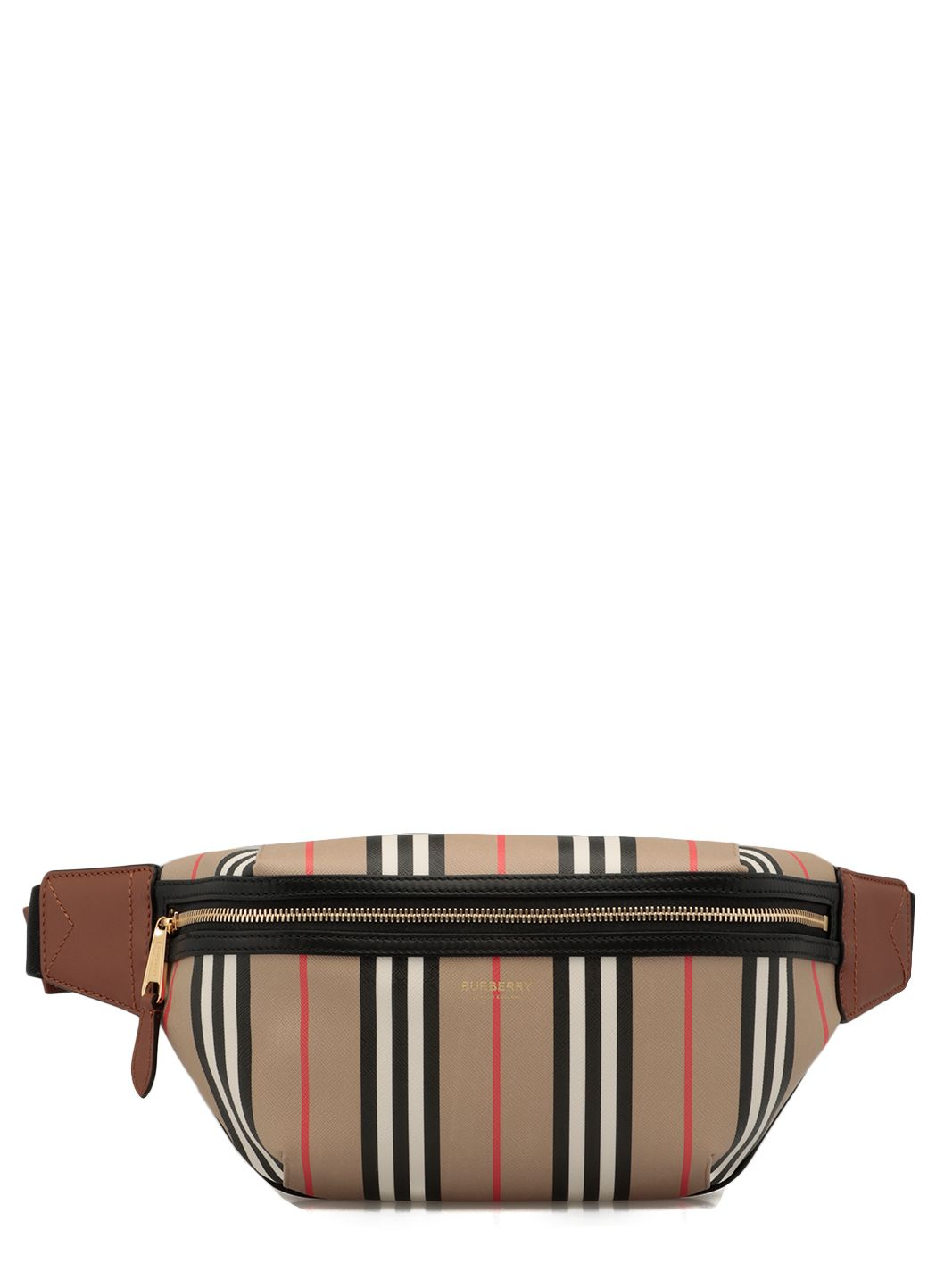 E-canvas Sonny belt bag with iconic striped pattern