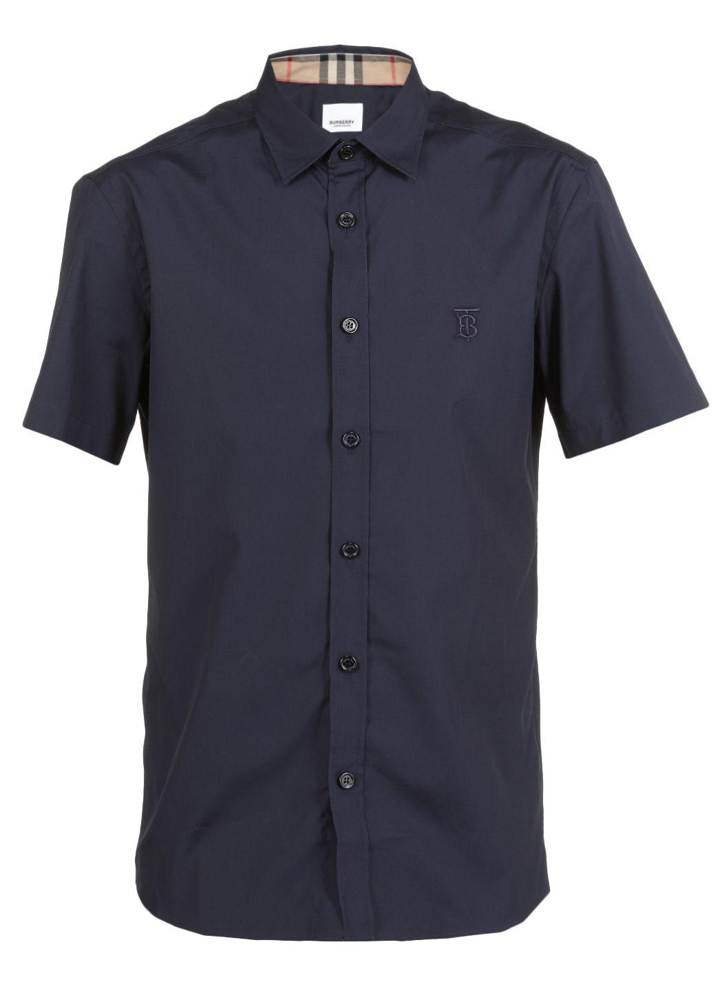 Popline cotton shirt