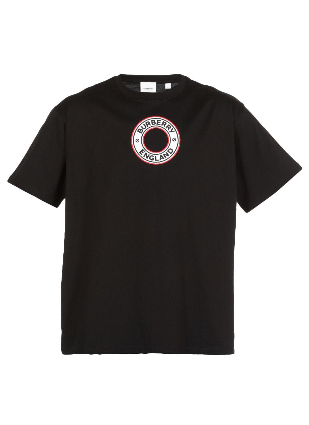 T-shirt oversize con ricamo