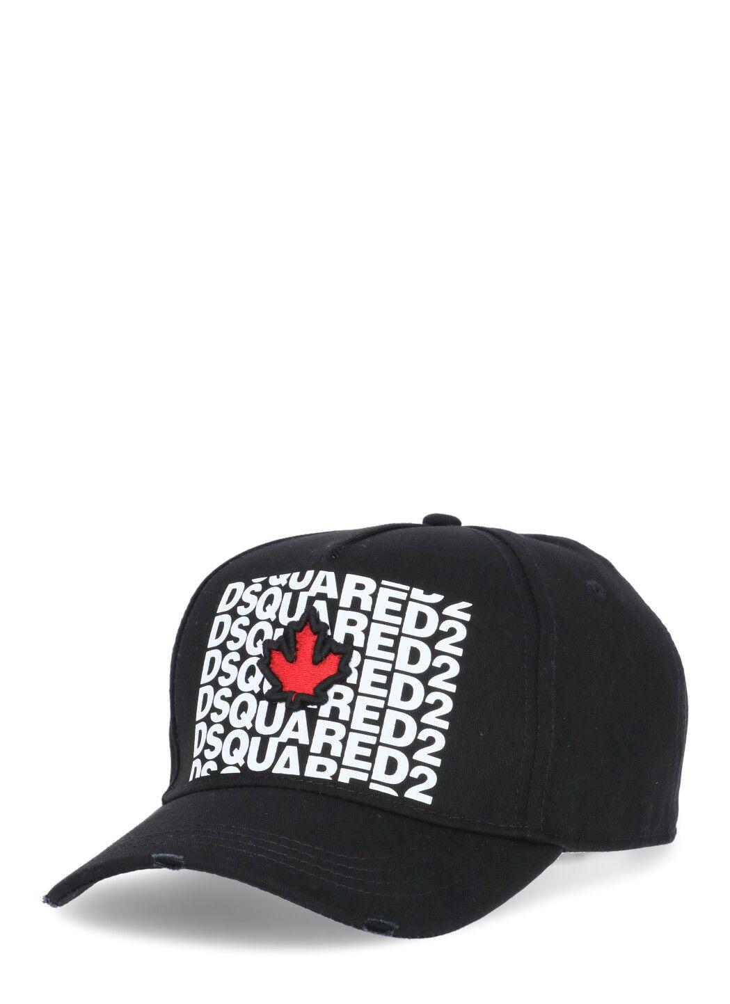 Red & Black Punk Tape Baseball Cap