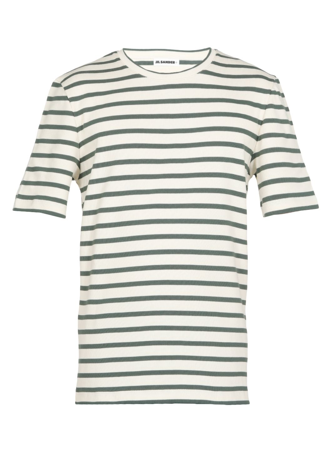 T-shirt a righe in cotone