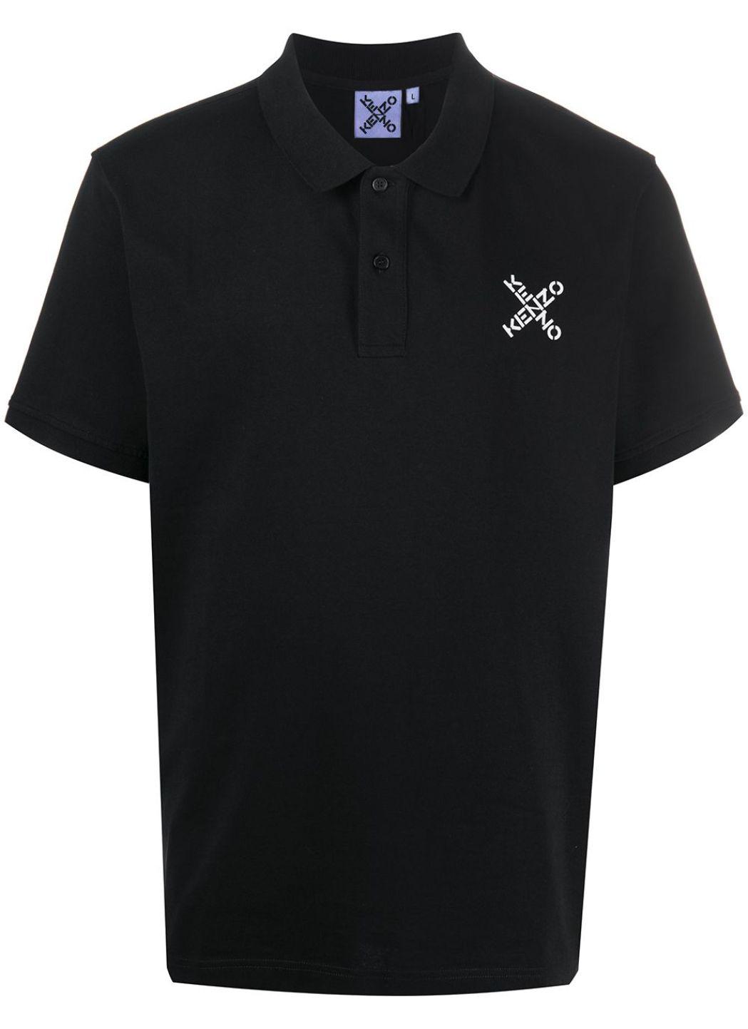 Polo in cotone con logo