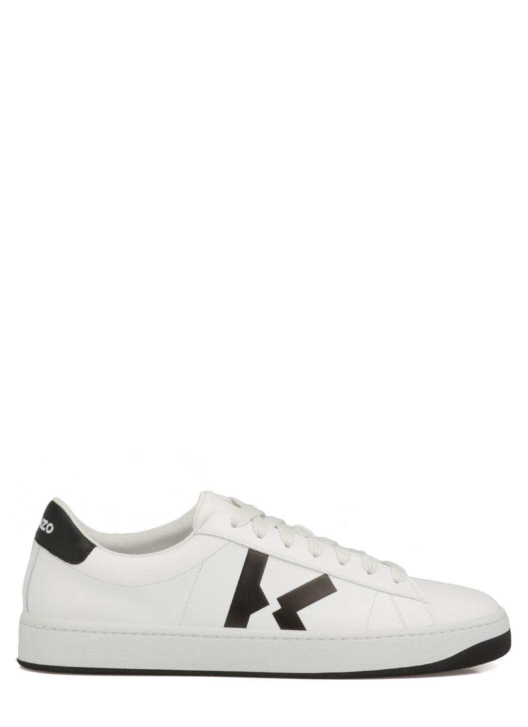 Sneaker Kourt in pelle