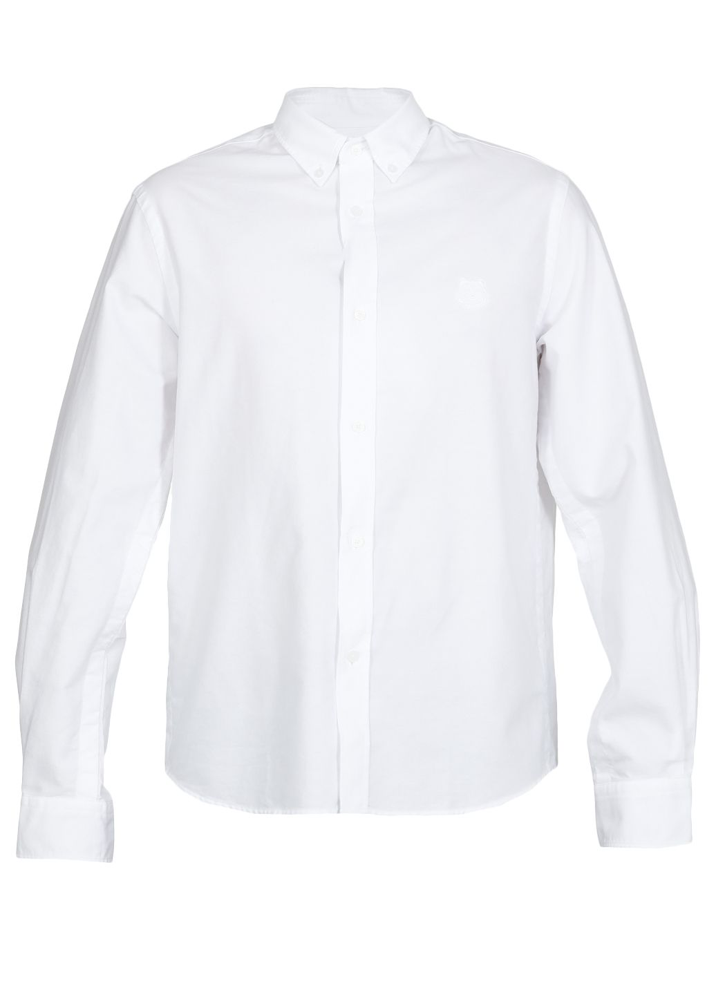Cotton shirt with logo