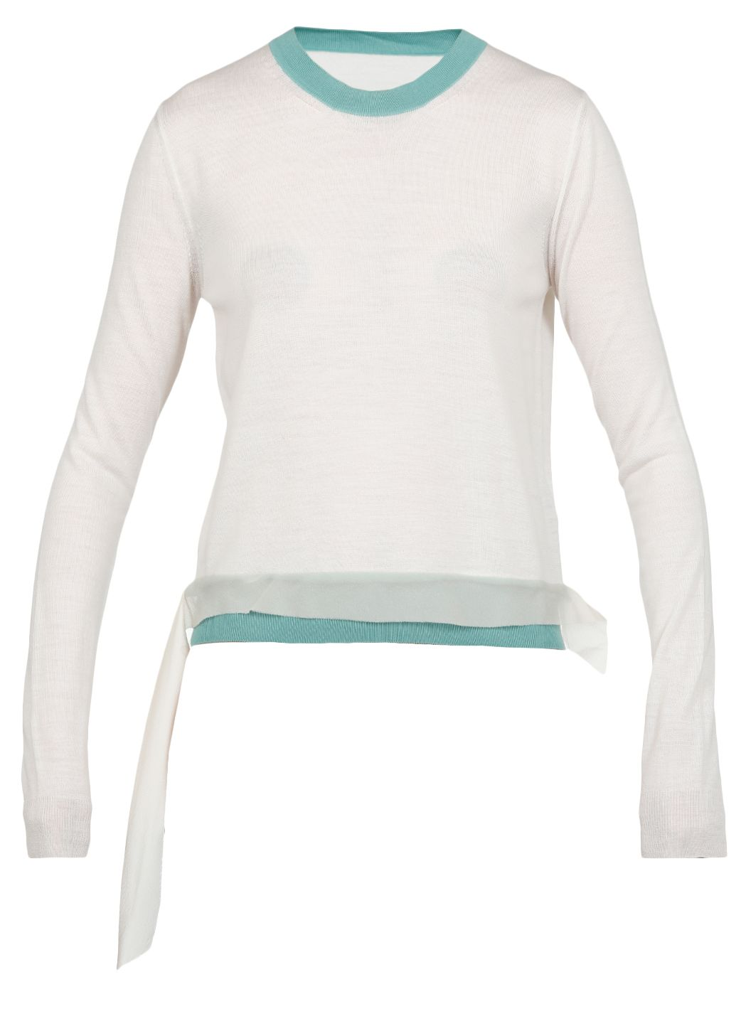Blend wool sweater