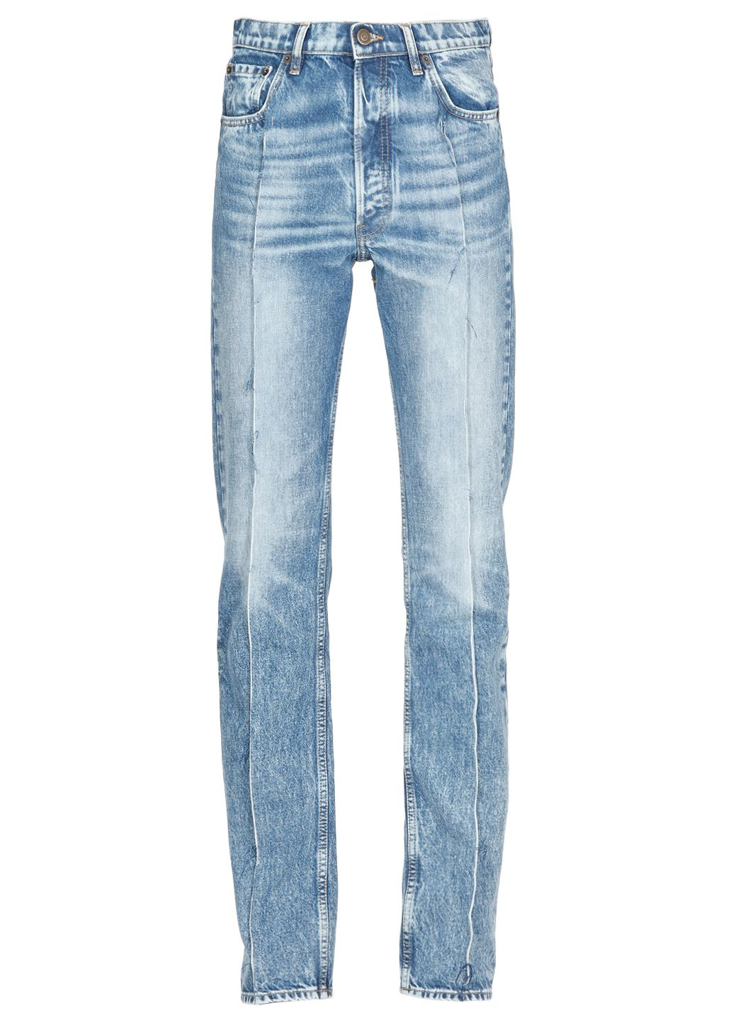 Recycled denim Spliced jeans