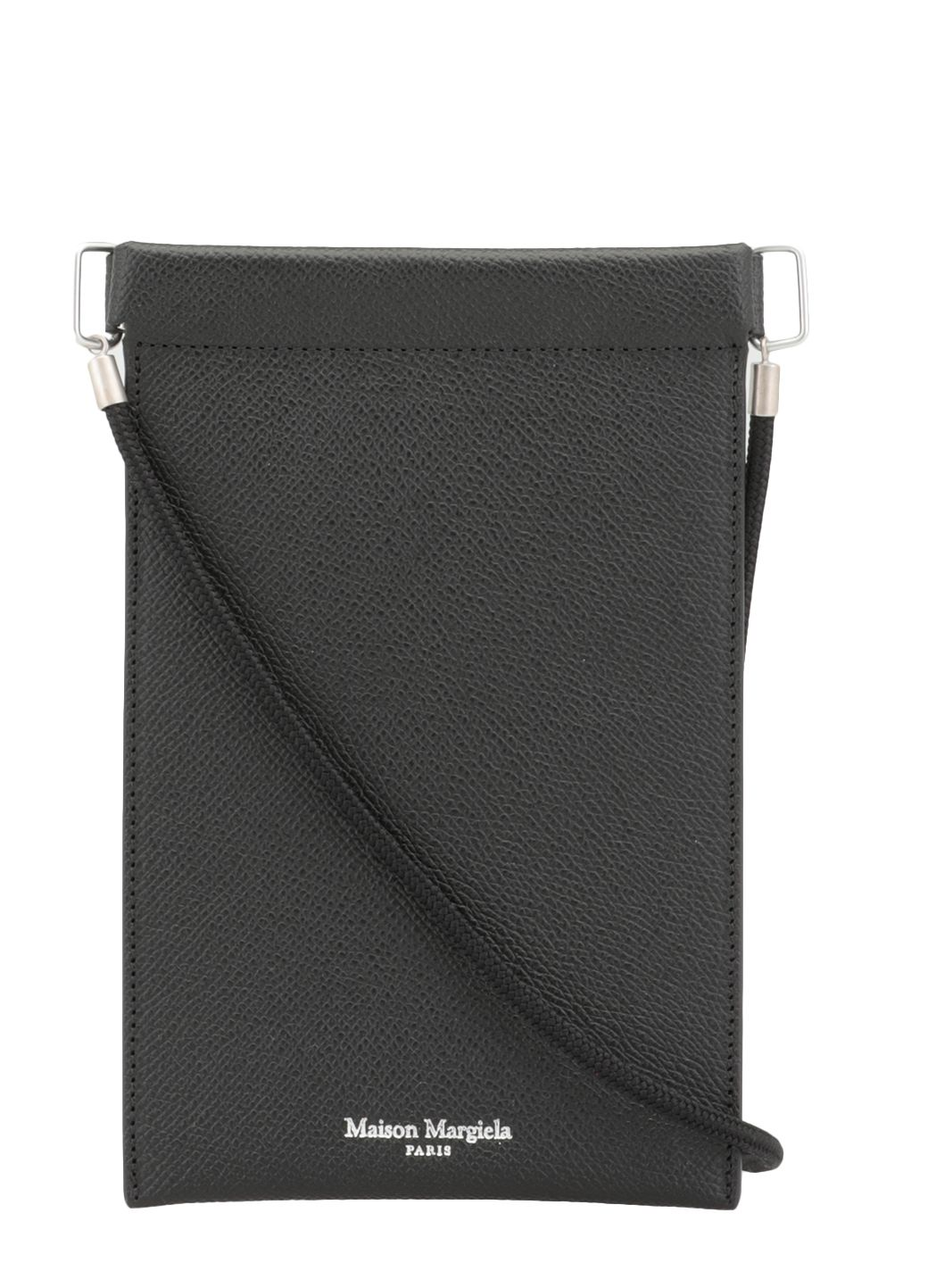 Leather cell phone holder case