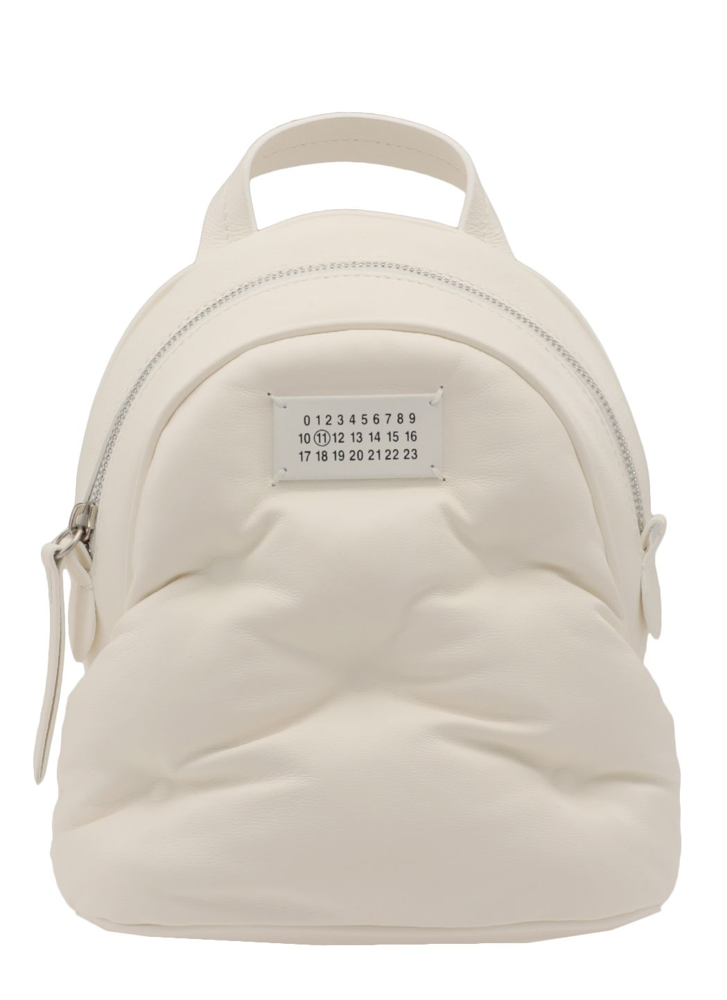 Leather min backpack