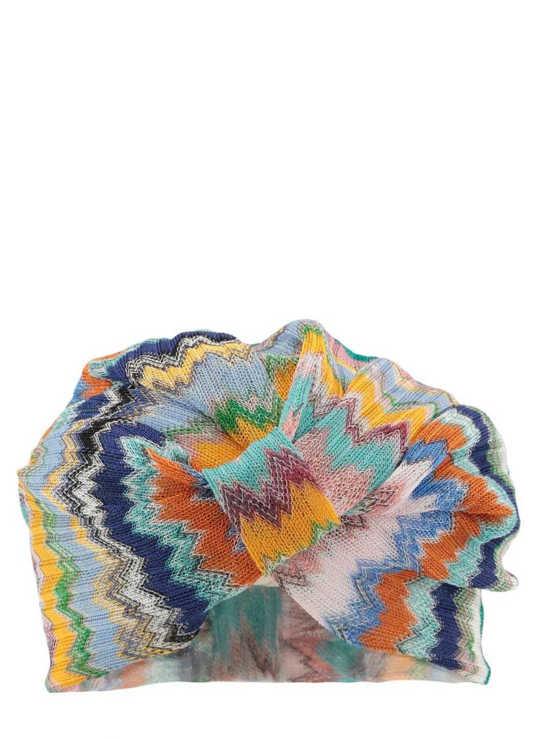 Turbante in maglia