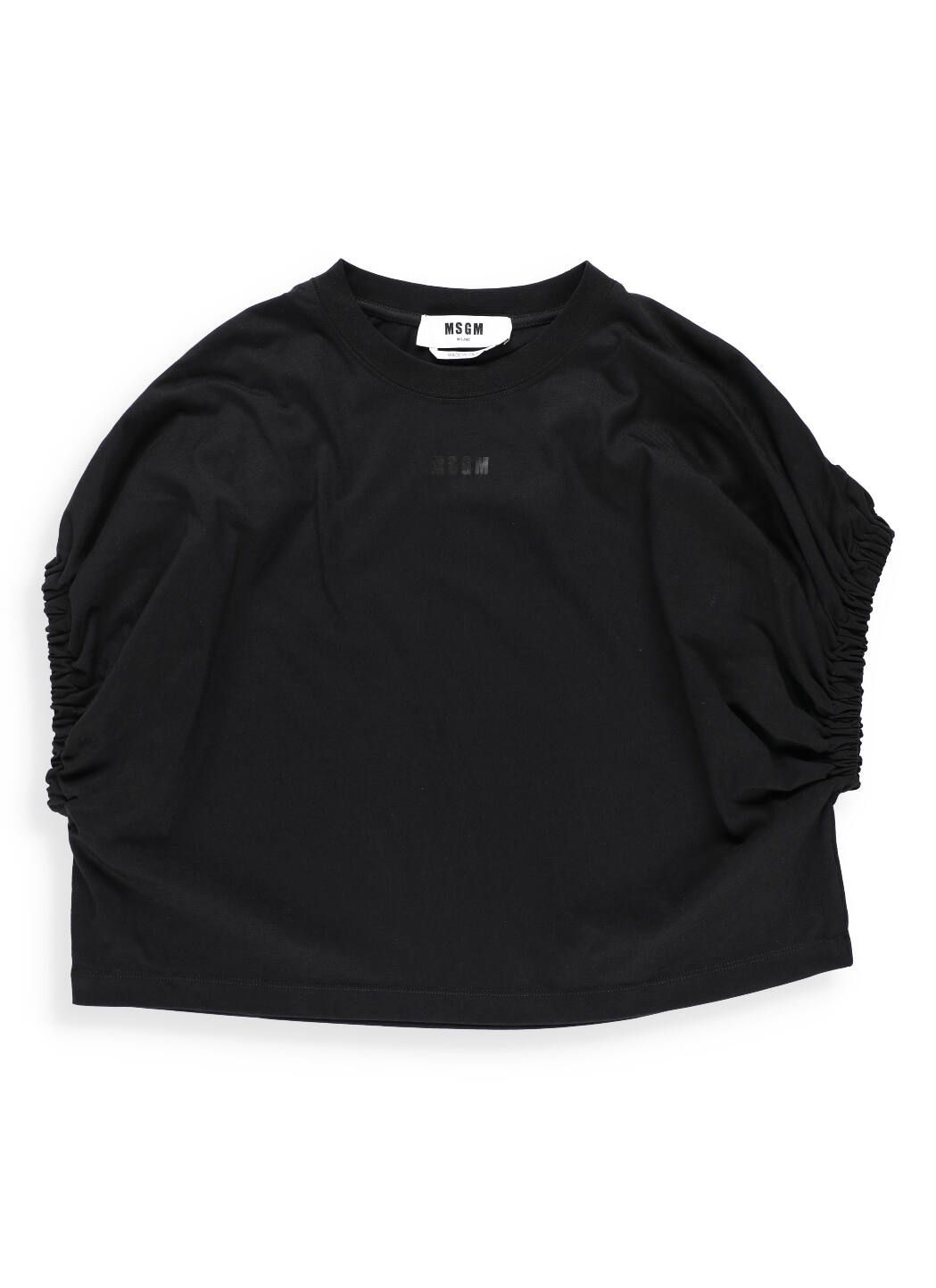T-shirt cropped in cotone