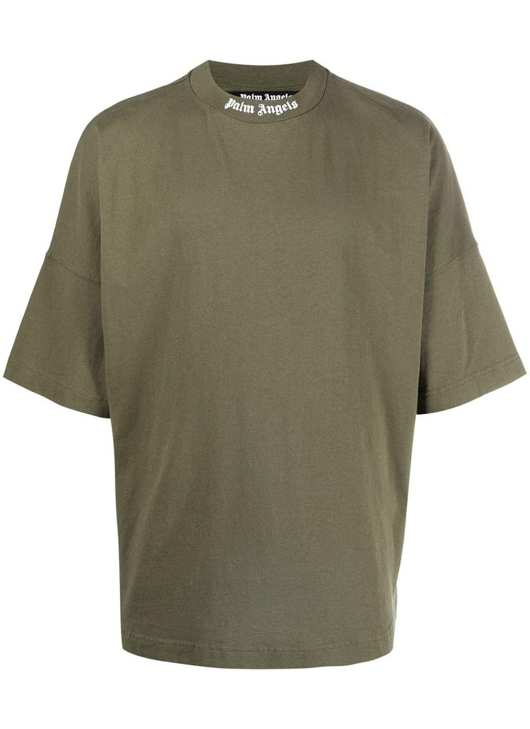 T-shirt oversize con logo