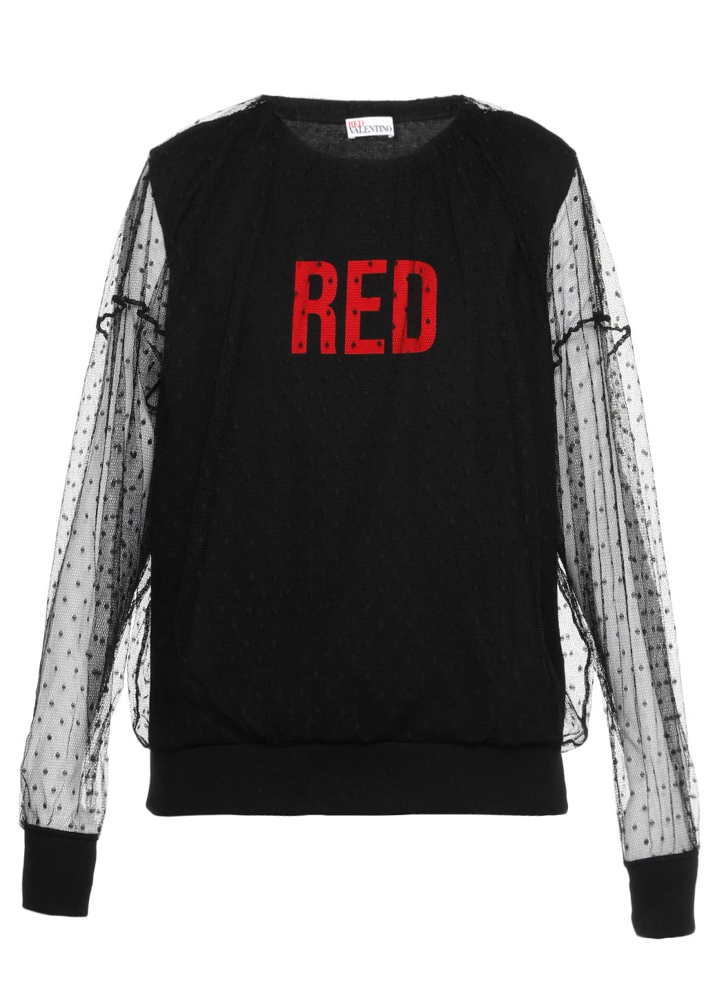 Felpa stampa RED con tulle