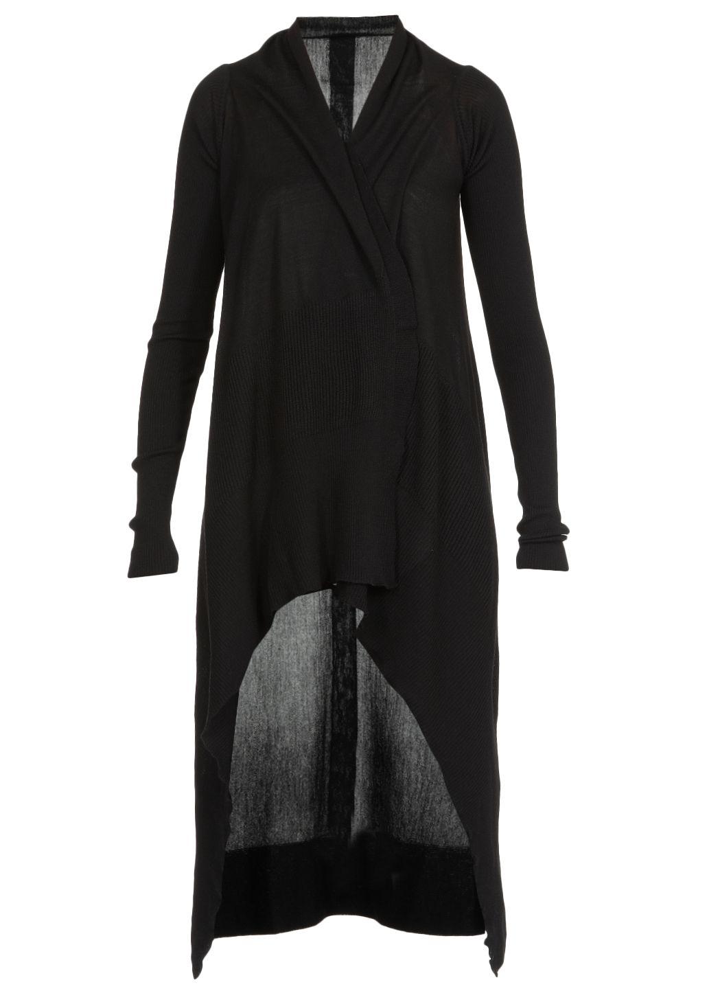 Cardigan in maglia di lana
