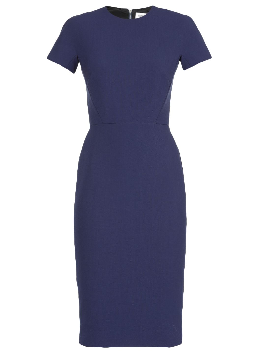 Fitted T-shirt Dress in Indigo