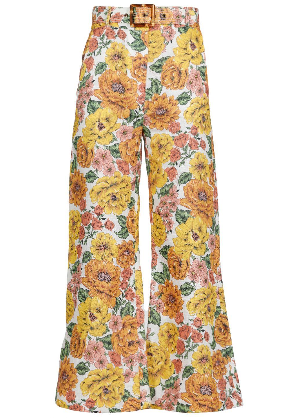 Pantalone Poppy Crop Flare