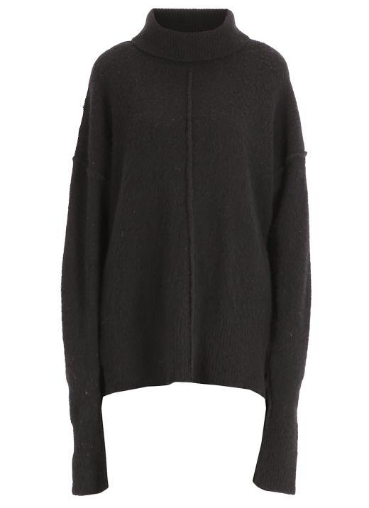 Wool oversize sweater