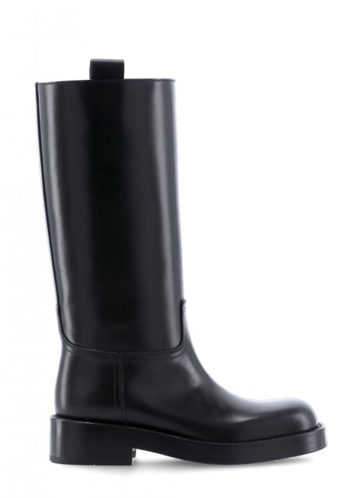 Stein leather high boot