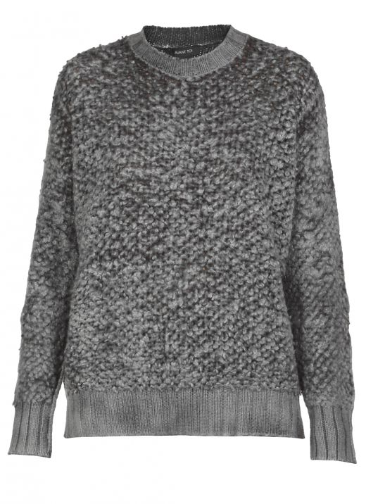 Wool cashmere and silk sweater